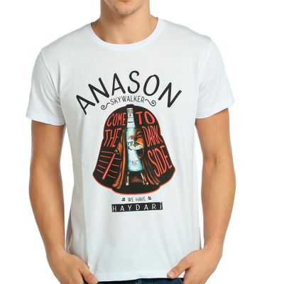 Bant Giyim - Star Wars Anason Skywalker Beyaz T-shirt