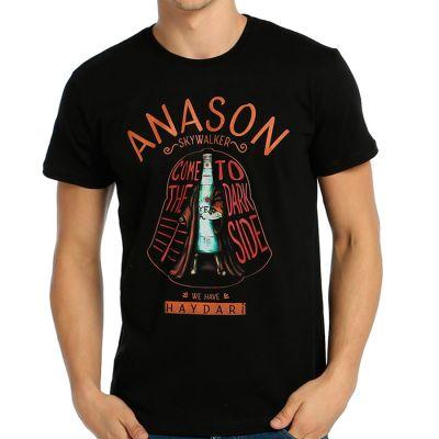Bant Giyim - Star Wars Anason Skywalker Siyah T-shirt
