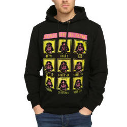 Bant Giyim - Bant Giyim - Star Wars Darth Vader Siyah Hoodie