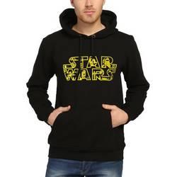 Bant Giyim - Star Wars Siyah Siyah Hoodie - Thumbnail