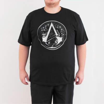 Bant Giyim - Assassin's Creed 4XL Siyah T-shirt