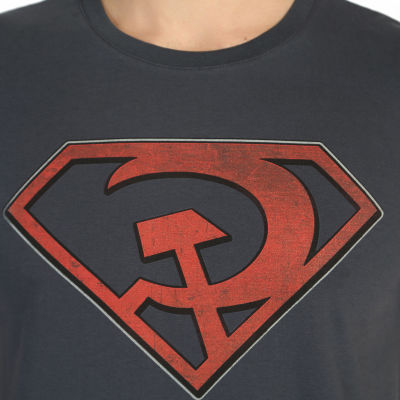 Bant Giyim - Superman Red Son Füme T-shirt