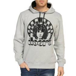 Bant Giyim - Bant Giyim - The Doors Gri Hoodie