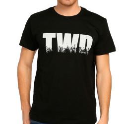 Bant Giyim - Bant Giyim - The Walking Dead Siyah Erkek T-shirt