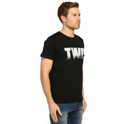 Bant Giyim - The Walking Dead Siyah T-shirt