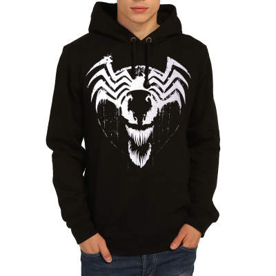 Bant Giyim - Venom Siyah Hoodie