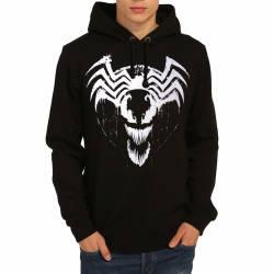 Bant Giyim - Venom Siyah Hoodie - Thumbnail