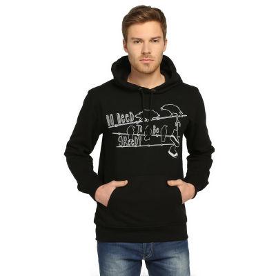 Bant Giyim - Kapitalizm Siyah Hoodie