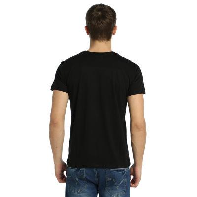 Bant Giyim - Yin Yang Kedi Siyah T-shirt
