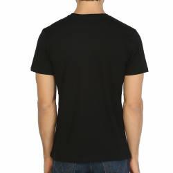Bant Giyim - Stranger Things Siyah T-shirt - Thumbnail