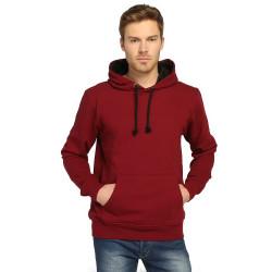 Bant Giyim - Bant Giyim - Basic Bordo Hoodie (3 iplik)
