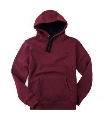 Bant Giyim - Basic Bordo Hoodie (3 iplik)