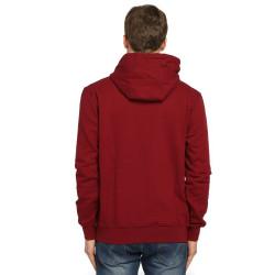 Bant Giyim - Basic Bordo Hoodie (3 iplik) - Thumbnail