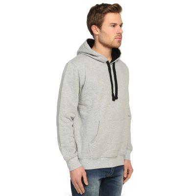 Bant Giyim - Basic Gri Hoodie (3 iplik)