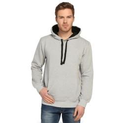 Bant Giyim - Bant Giyim - Basic Gri Hoodie (3 iplik)