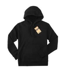 Bant Giyim - Bant Giyim - Basic Siyah Hoodie (2 iplik)