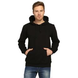 Bant Giyim - Bant Giyim - Basic Siyah Hoodie (3 iplik)