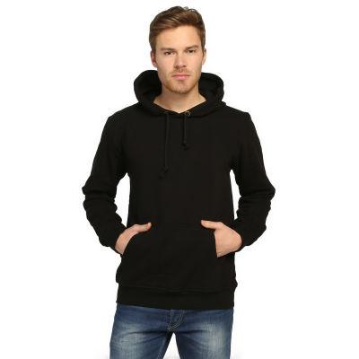 Bant Giyim - Basic Siyah Hoodie (3 iplik)