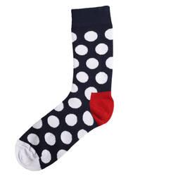 HollyHood - SA - Beyaz Puantiye Çorap (1)