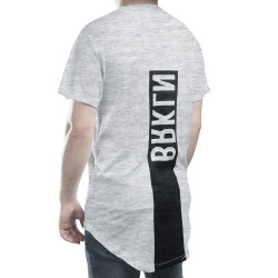 BKN - Above The Line Gri T-shirt - Thumbnail