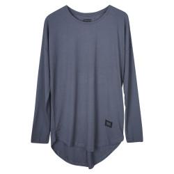 BKN - BKN - Long Antrasit Uzun Kollu T-shirt