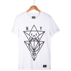 BKN - BKN - NY Beyaz T-shirt
