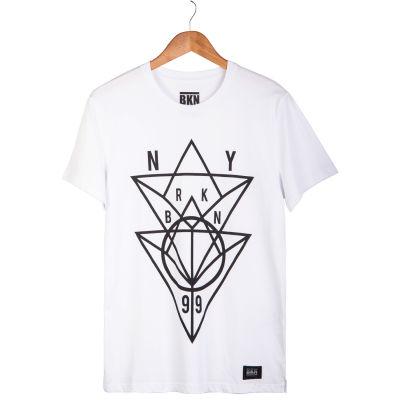 BKN - NY Beyaz T-shirt