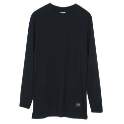 BKN - BKN - Long Siyah Uzun Kollu T-shirt