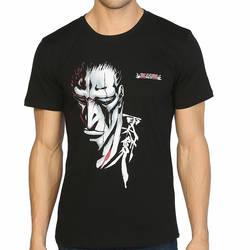 Bant Giyim - Bleach Kenpachi Zaraki Siyah T-shirt - Thumbnail