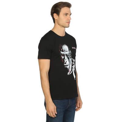 Bant Giyim - Bleach Kenpachi Zaraki Siyah T-shirt