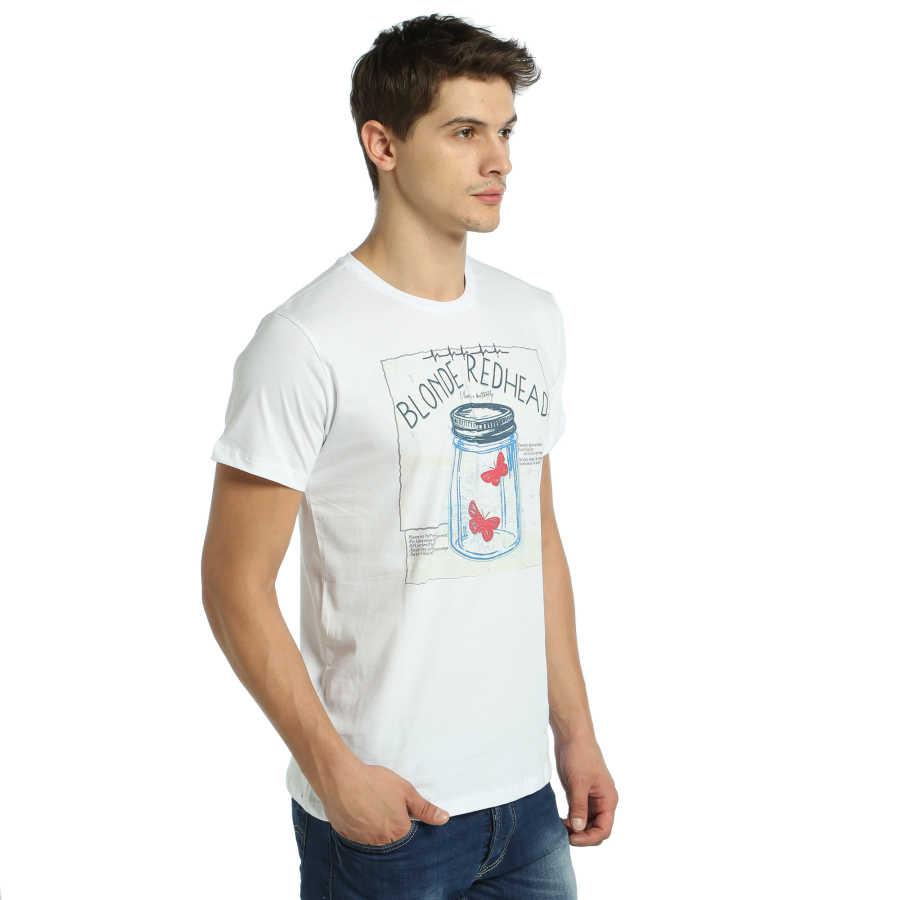 Bant Giyim - Blonde Redhead Beyaz T-shirt