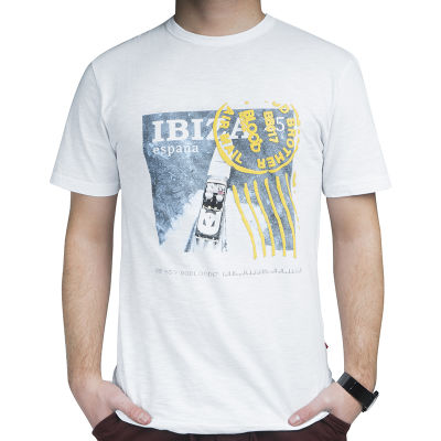 Blood Brother - Ibiza Air Mail Beyaz T-shirt