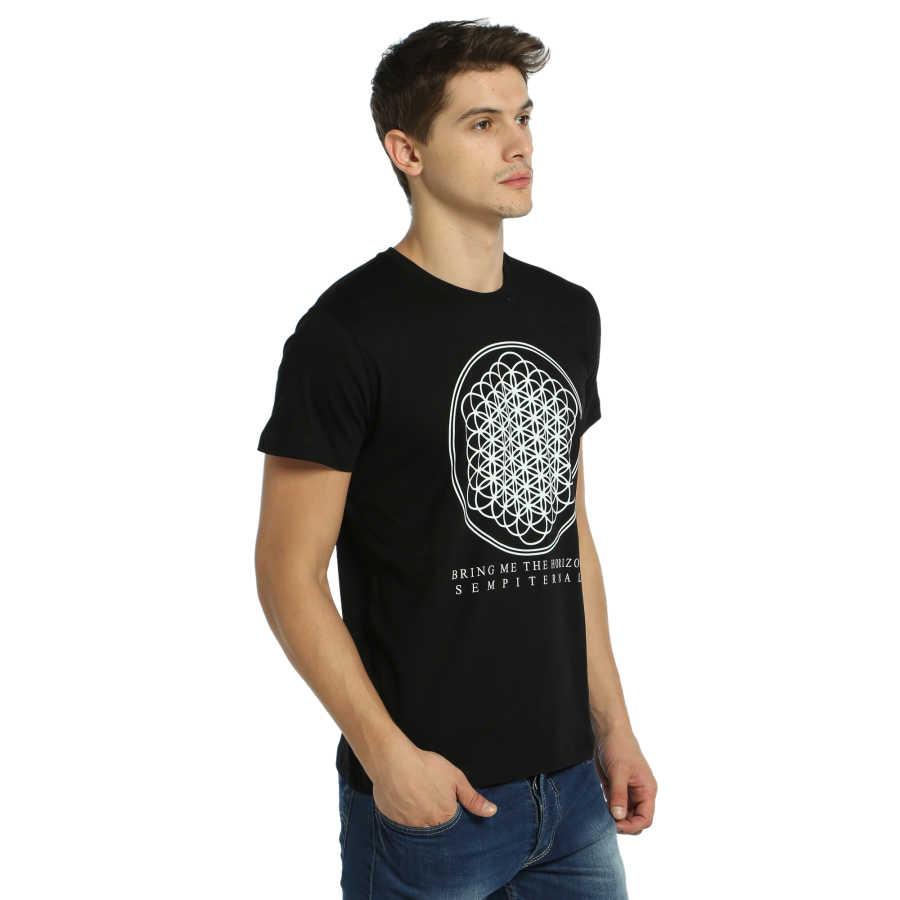 Bant Giyim - Bring Me The Horizon Siyah T-shirt