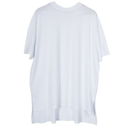 BKN - Brooklyn Beyaz Long T-shirt - Thumbnail