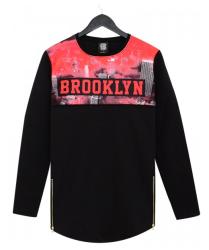 Thug Life - Brooklyn Long Sweatshirt - Thumbnail