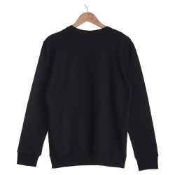 Hyper X - BTS ARMY Siyah & Beyaz Sweatshirt - Thumbnail