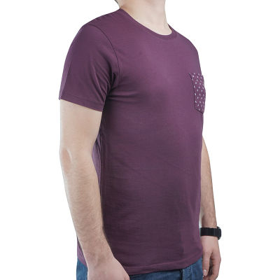 HollyHood - Burton Mens Wear - Bordo Cepli T-shirt
