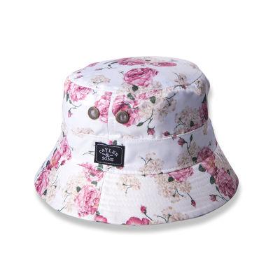 Cayler & Sons - Paris F*ckın Cite With Flowers Beyaz Şapka