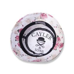 Cayler & Sons - Paris F*ckın Cite With Flowers Beyaz Şapka - Thumbnail