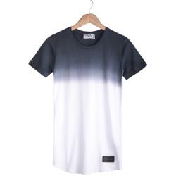 HollyHood - Celebry Tees - Lacivert & Beyaz T-shirt
