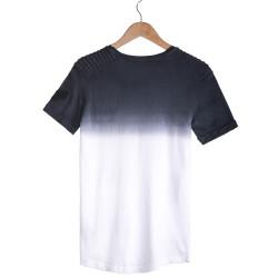 Celebry Tees - Lacivert & Beyaz Armalı T-shirt - Thumbnail