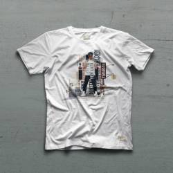 Ceza - Ceza - Bulanık Sular Beyaz T-shirt