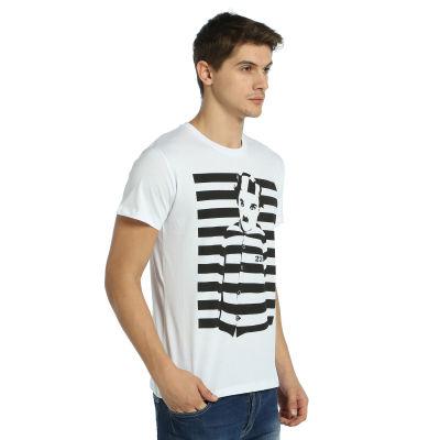 Bant Giyim - Charlie Chaplin Beyaz T-shirt