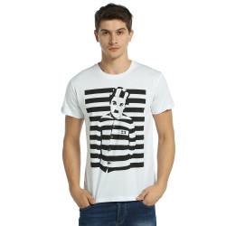 Bant Giyim - Charlie Chaplin Beyaz T-shirt - Thumbnail