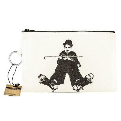 Bant Giyim - Charlie Chaplin Skater Cüzdan