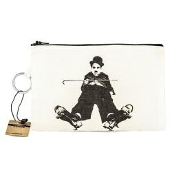 Bant Giyim - Bant Giyim - Charlie Chaplin Skater Cüzdan