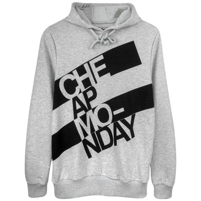 Two Bucks - Cheap Monday Gri Hoodie