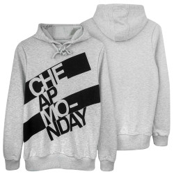 Two Bucks - Two Bucks - Cheap Monday Gri Hoodie