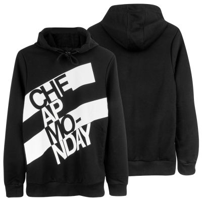 Two Bucks - Cheap Monday Siyah Hoodie