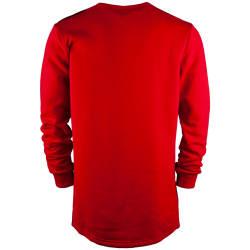 Hyper X - Checked Kırmızı Sweatshirt - Thumbnail
